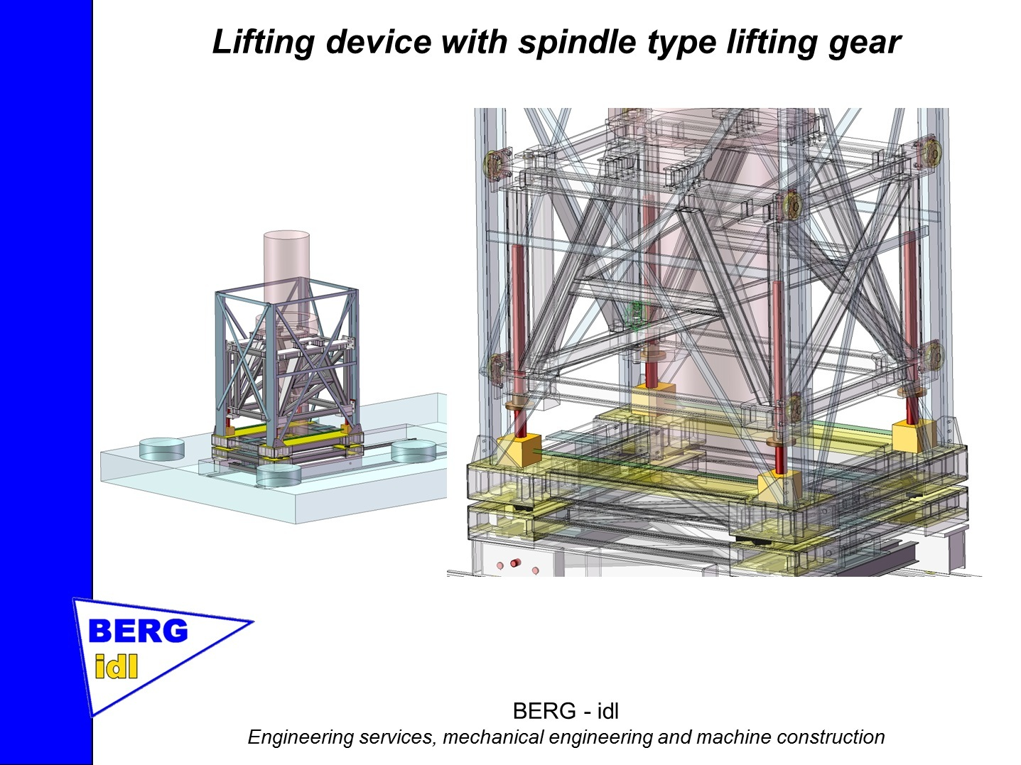 Lifting Device - Spindle-Type Lifting Gear